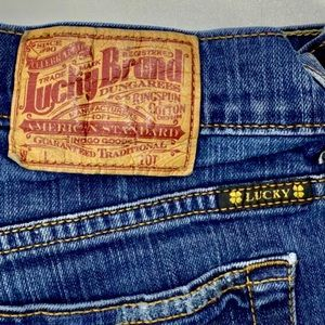 Lucky Brand Dungarees Sweet N' Low Denim Jeans